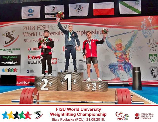 Ervin Roznjik FISU svetski šampion