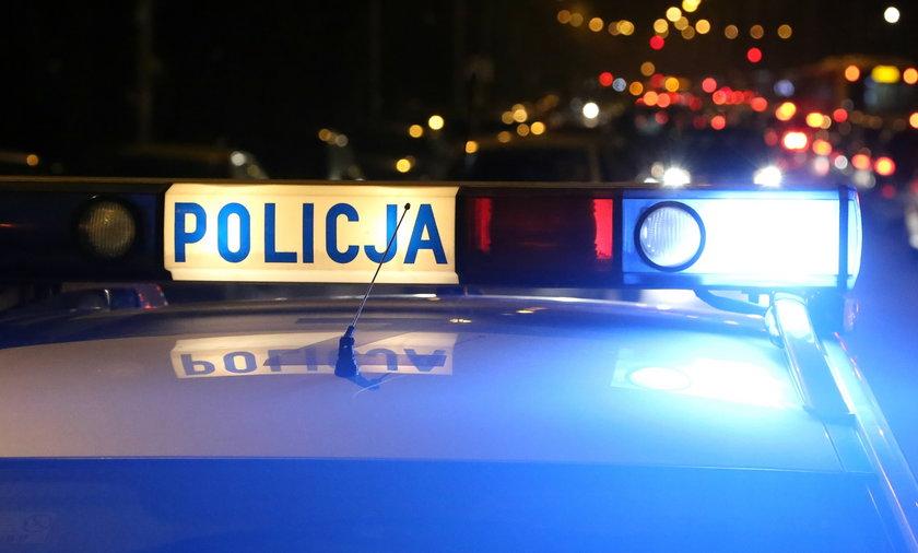 Strzelanina w hotelu pracowniczym w Leśnicy. Zaatakował policjantów nożem