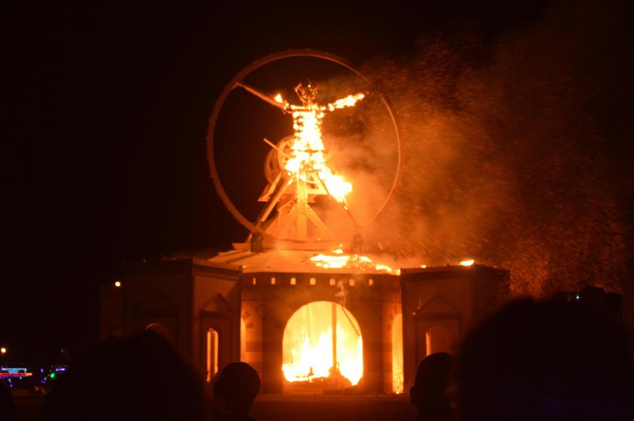 Burning Man Festival 2016 Comes to an End