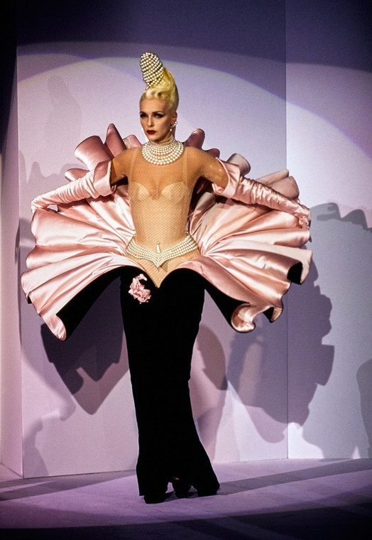 The Thierry Mugler outfit originally worn in the 1995 couture show