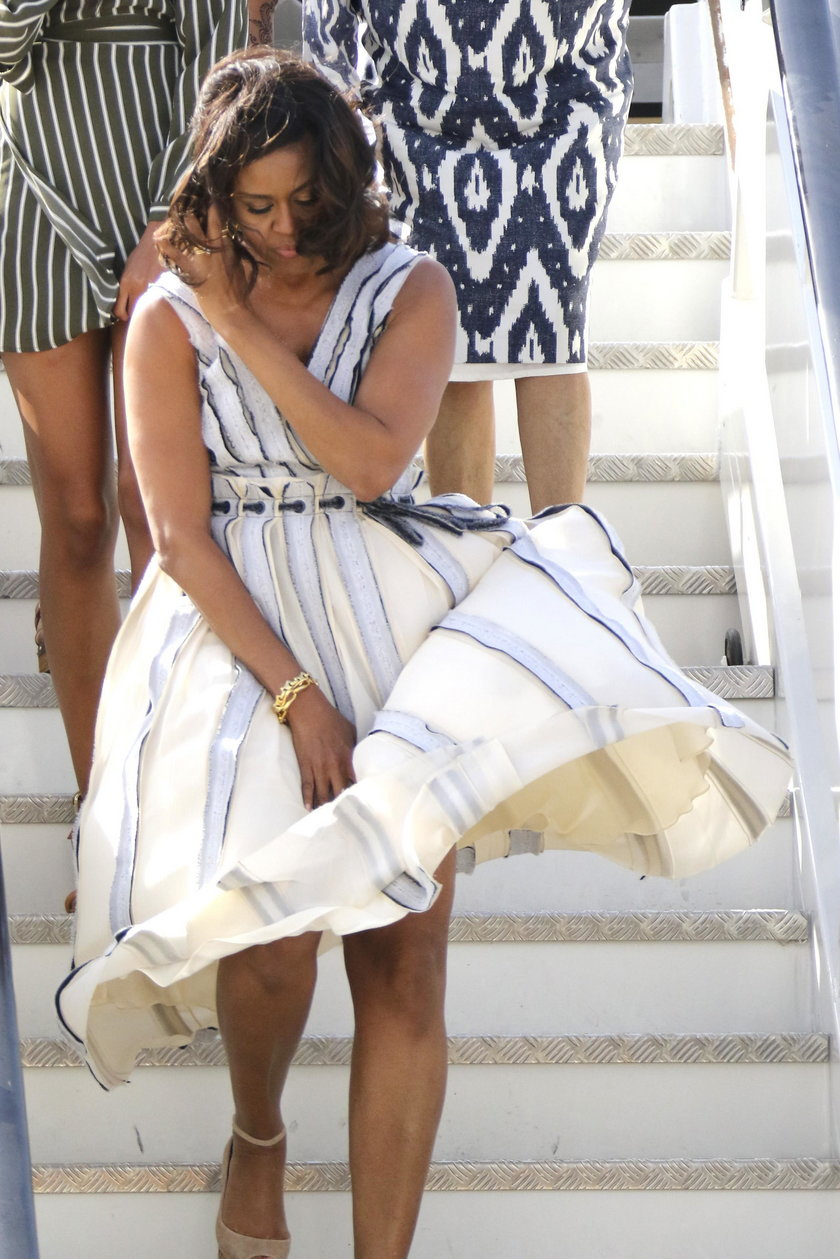 Córka Obamy pokazała za dużo, ale nogi!