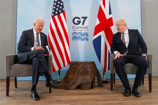 Biden i Johnson G7