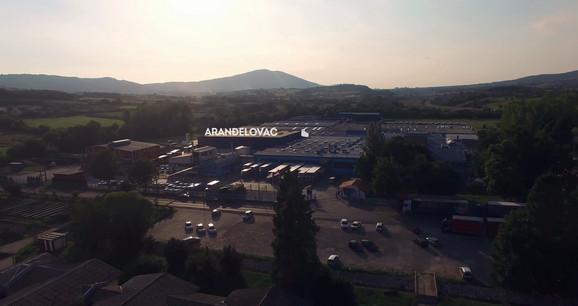Fabrika u Aranđelovcu