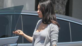 Zobacz, jak wyglądają ciążowe krągłości Mili Kunis