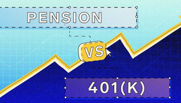 A pension might seem better since the onus to contribute is on the employer - but that doesn't necessarily mean it's better than a 401(k).