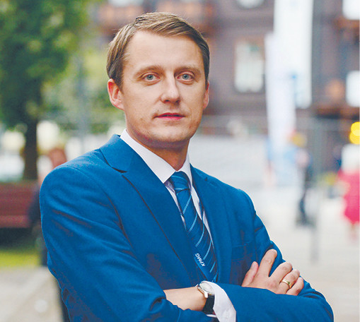 Žygimantas Vaičiunas, minister energii Litwy