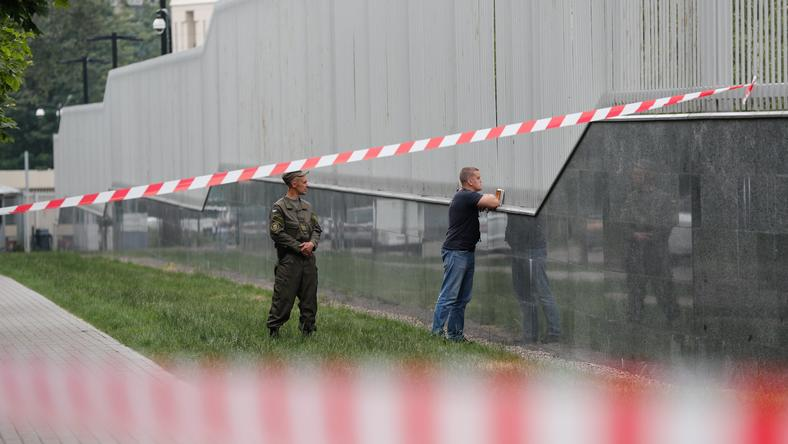 Ukraina: wybuch w ambasadzie USA