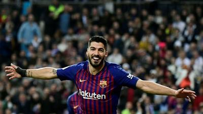 Tearful Suarez says goodbye to Barca ahead of Atletico switch