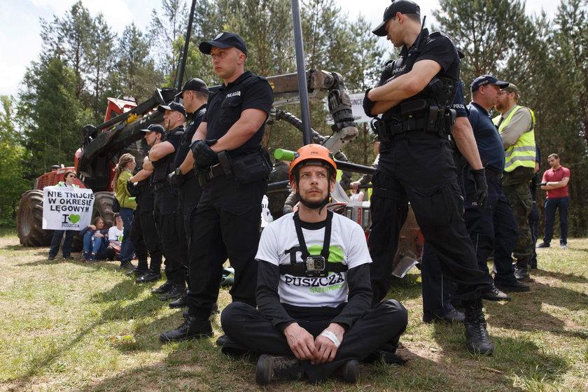 Policja skierowała wnioski o ukaranie ptotestujących do sądu
