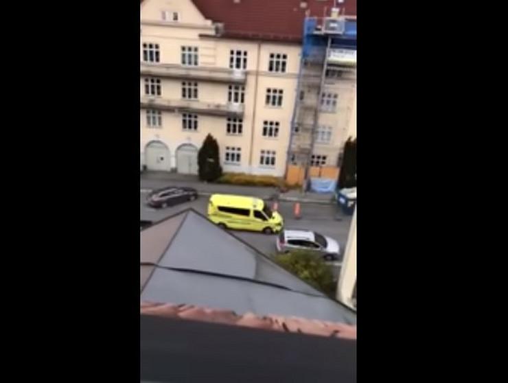 Oslo ukrao ambulantna kola