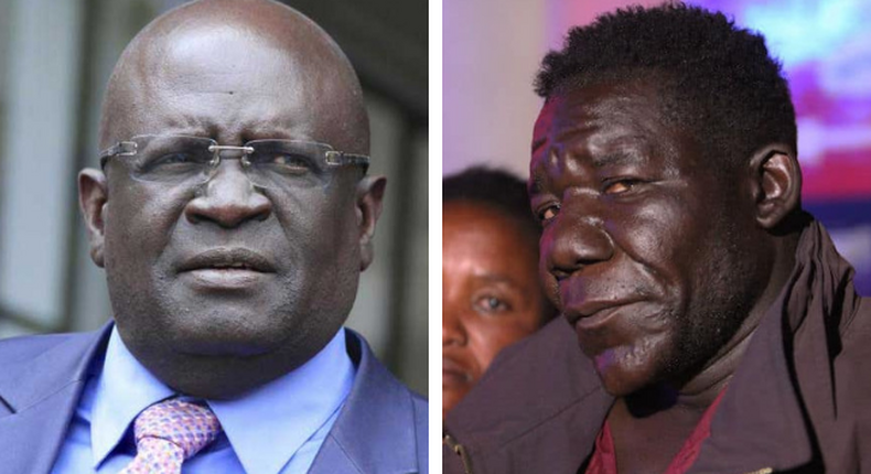Kenya's Education Cabinet Secretary Prof George Magoha vs Africa's ugliest man, William Masvinu.