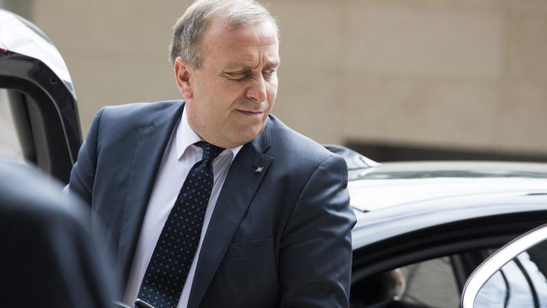 Minister spraw zagranicznych Grzegorz Schetyna