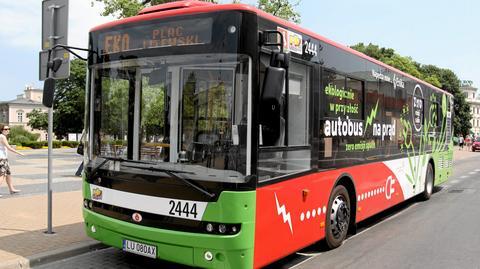 Pierwszy elektryczny autobus Ursusa w Lublinie