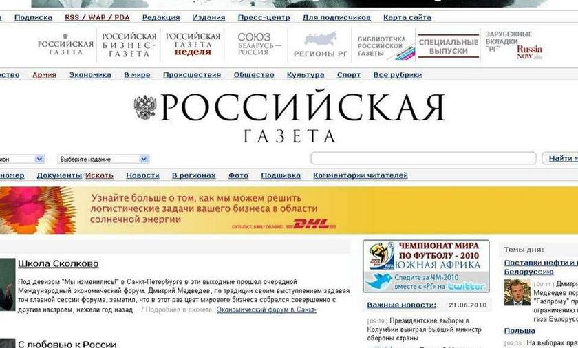 Rosyjskie media: Kaczyński zrobił wrażenie