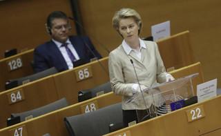 Von der Leyen zapowiada środki UE, aby wesprzeć represjonowanych na Białorusi
