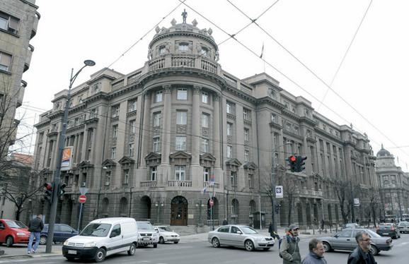 Današnja zgrada Ministarstva spoljnih poslova