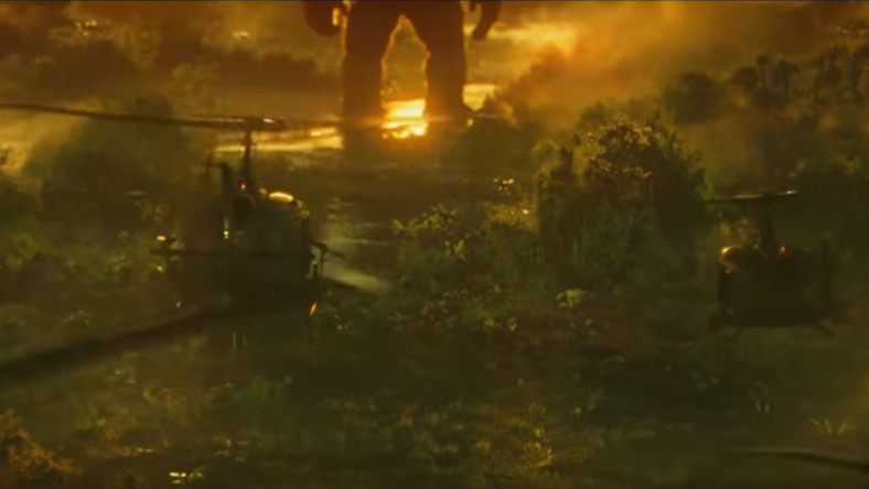 """Kadr z filmu """"Kong: Wyspa czaszki"""""""