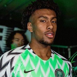 Alex Iwobi in jersery campaign [Married Biography]