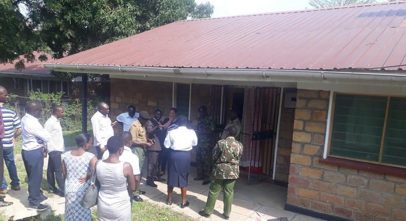 Thieves break in, cook, eat, steal in Cuban doctor Blanco Torres Marleni's Homa Bay house