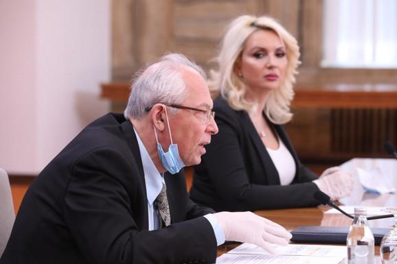 Udarni tandem: Predrag Kon i Darija Kisić Tepavčević