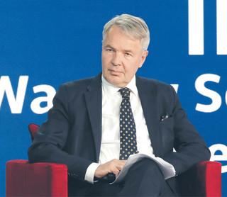 Haavisto: Unia musi mieć zdolności do szybkiej reakcji [WYWIAD]