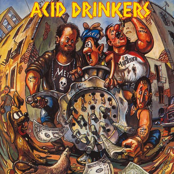 "Acid Drinkers - ""Dirty Money, Dirty Tricks"""