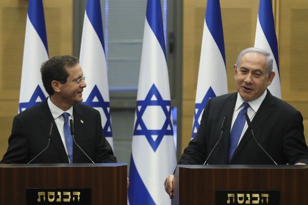 Icchak Hercog i Benjamin Netanjahu