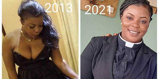 Kumawood actress Gloria Kani ordained Reverend Minister (PHOTOS)   Latest Ghanaian Celebrity News & Hot Gossip - Pulse Ghana