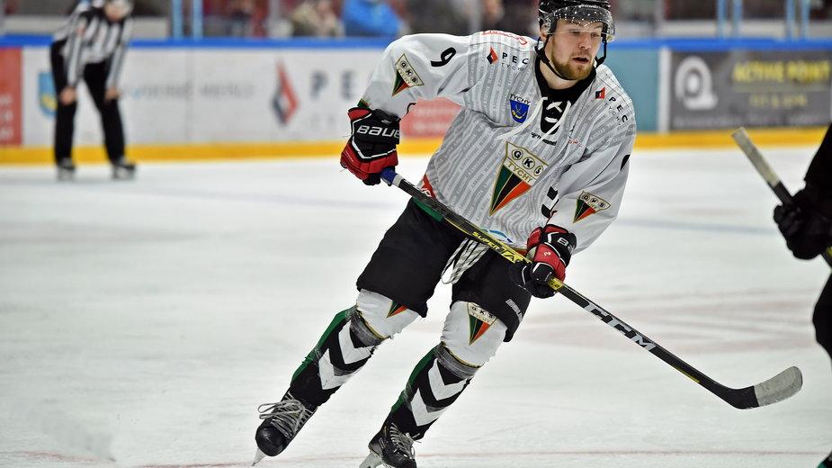 Christian Mroczkowski napastnik GKS Tychy