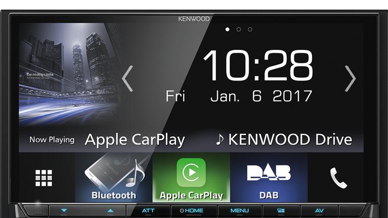Kenwood DMX7017DABS_GUI_CarPlay