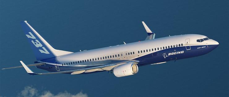 Boeing 737-800 foto Boeing