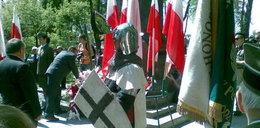 Burmistrz Ostródy sprowadził Krzyżaków