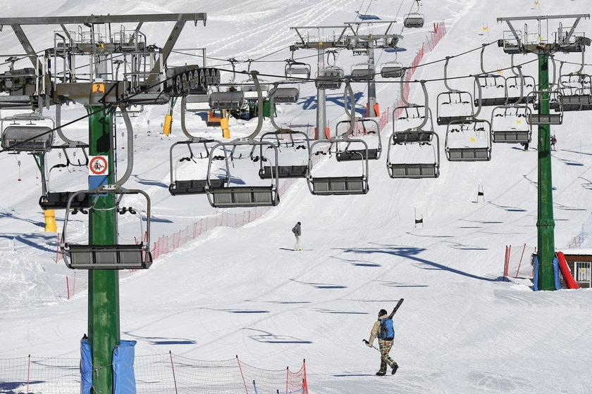 Otwarcie stoków i wyciągów narciarskich we Włoszech odwołane. Nagła zmiana decyzji