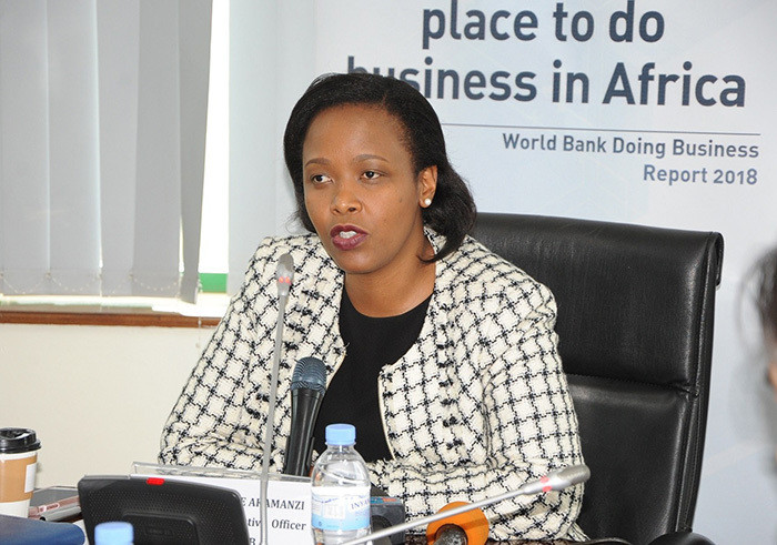 RDB Chief Executive Clare Akamanzi.