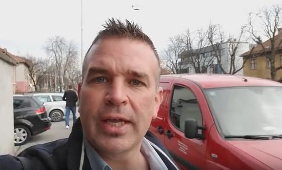 Čarls Kater o Beogradu u poseti Zagrebu