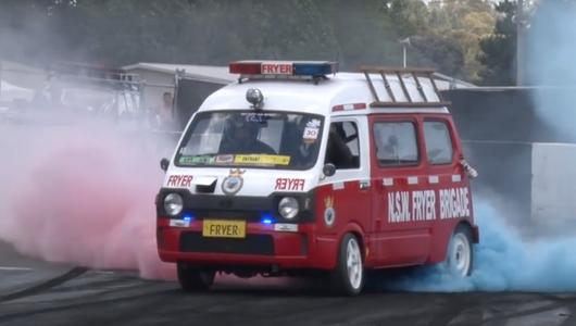 Subaru Sambar V8 - lubimy australijskie szaleństwa