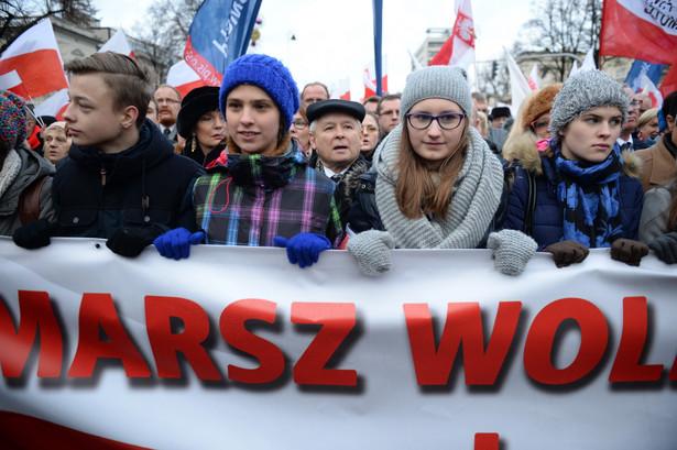 Marsz Wolności i Solidarności, PAP/Jacek Turczyk