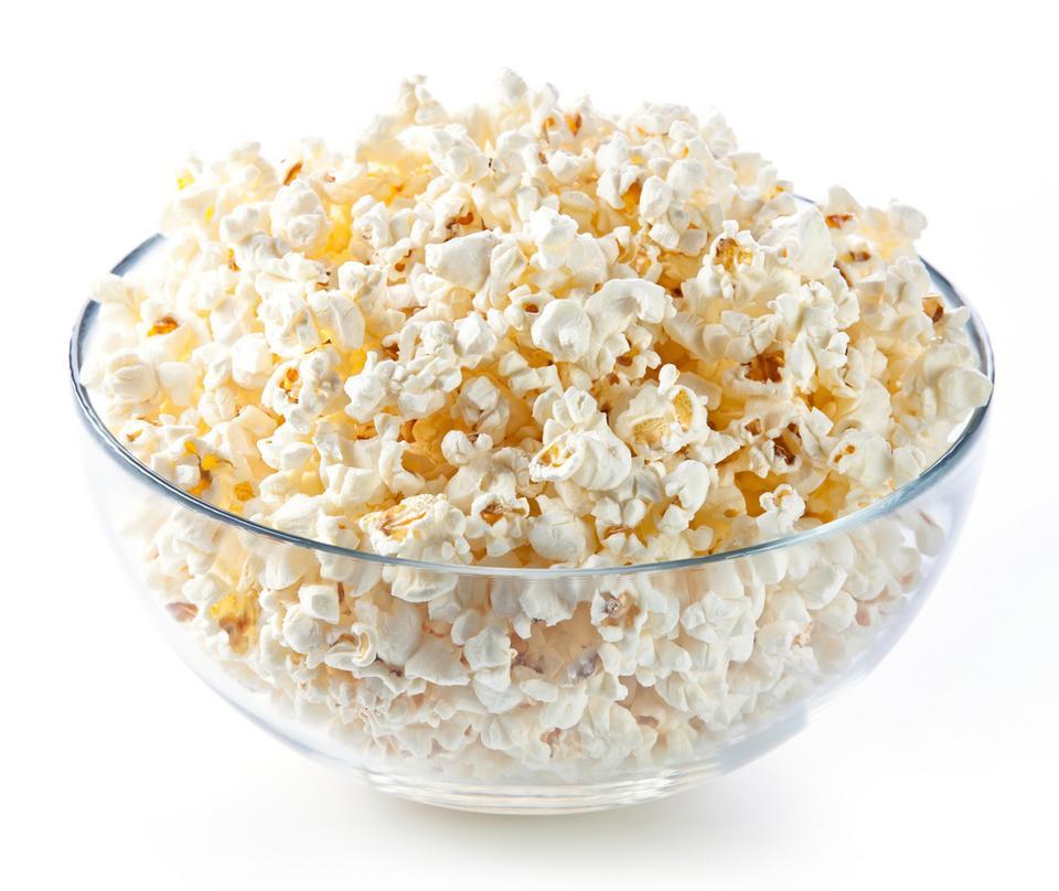 Zamiast chipsów - domowy popcorn