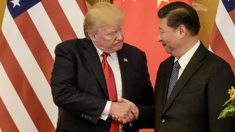 US President Donald Trump (L) and Chinese leader Xi Jinping are expected to meet on the sidelines of the G20 summit in Argentina