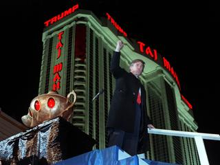 Donald Trump and Taj Mahal