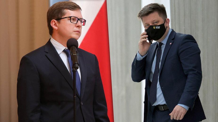 Tomasz Matynia i Michał Dworczyk