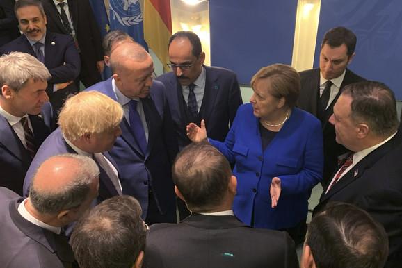Razgovor u Berlinu o Libiji