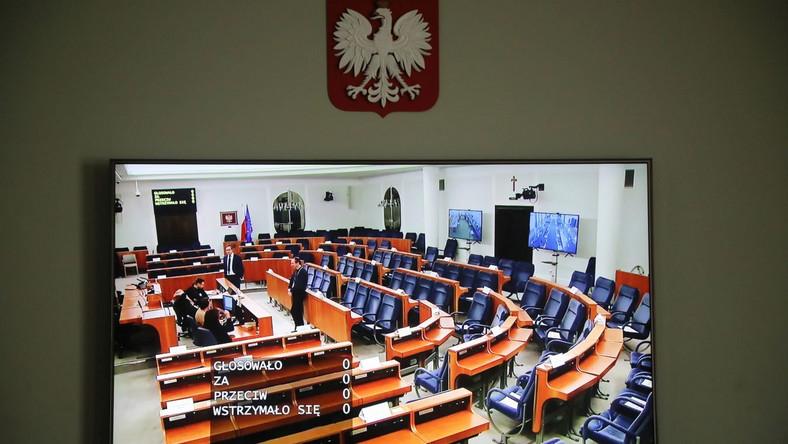 Sala obrad w Senacie