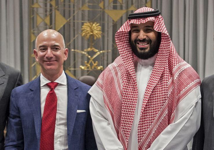 Džef Bezos i Mohamed bin Salman profimedia-0494206702