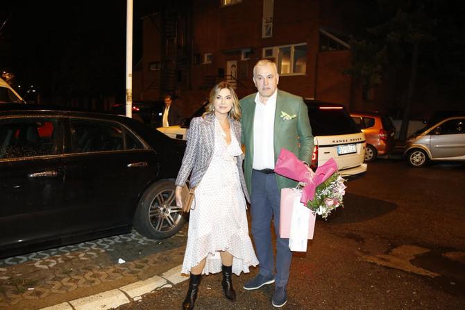 Branka Nevistić sa suprugom Branislavom Grujićem