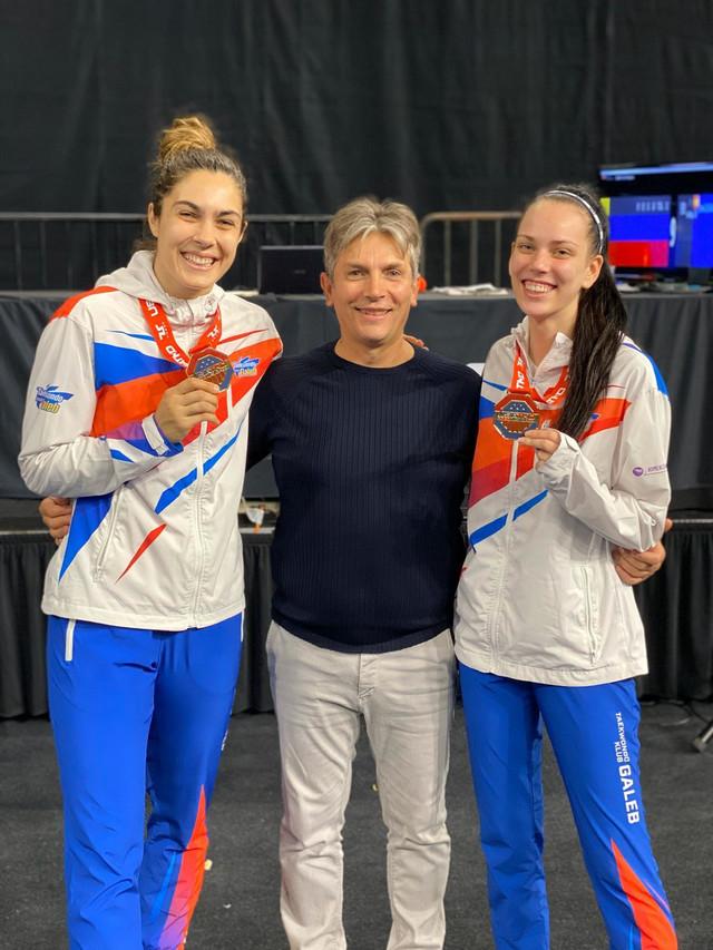 Milica Mandić i Tijana Bogdanović na US Openu u Orlandu
