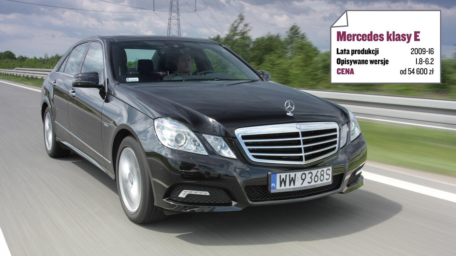 Mercedes klasy E (W212/S212): gwiazda w końcu zabłysła: