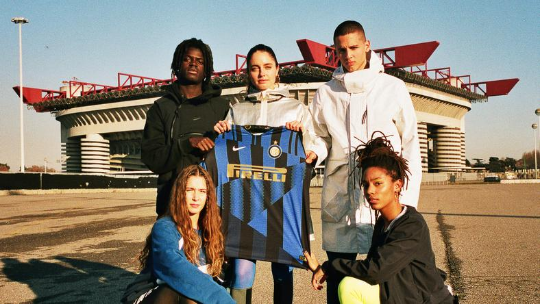 Nike and Inter Milan collaborated for a  20 year anniversary jersey