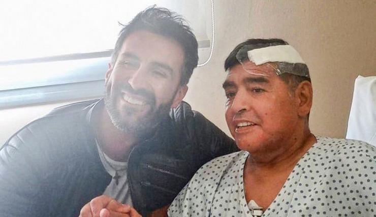 Dijego Maradona i Leopoldo Luke