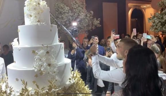 Torta na venčanju Veljka i Bogdane